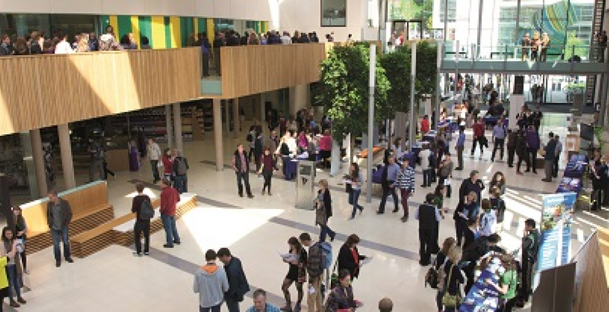 University of Exeter Online - Shot of Campus Interior