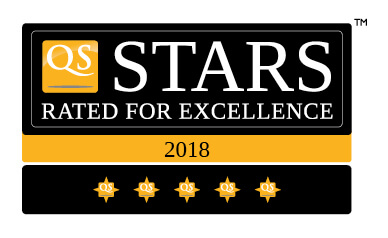 Online MA Education QS 5 Star Rating 2018
