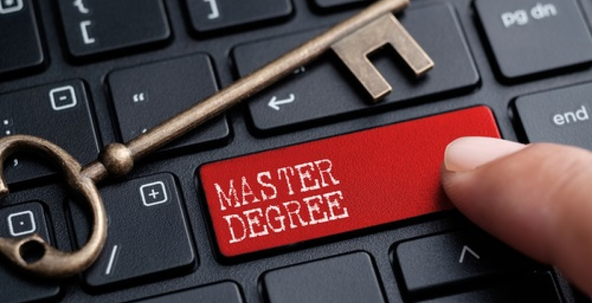 Online Ambition – three Masters degrees, two years, one purpose